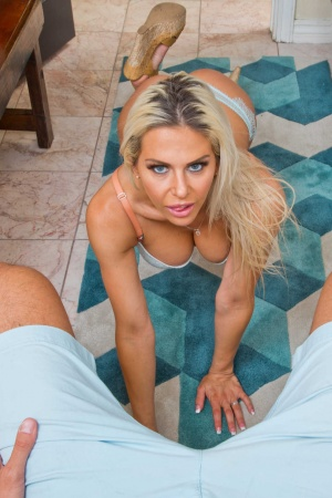 Housewife Rachel RoXXX pov fucked by her man in the laundry room